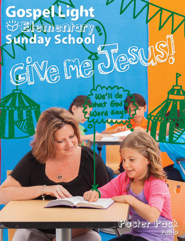Gospel Light | Elementary GR 1-4 Bible Teaching Poster Pack | Fall Year D