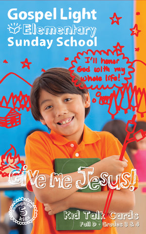 Gospel Light | Elementary GR 3-4 Kids Talk Cards | Fall Year D