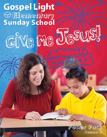 Gospel Light | Elementary GR 1-4 Bible Teaching Poster Pack | Summer Year D