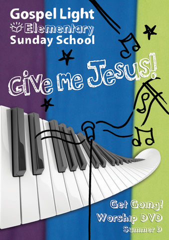 Gospel Light | Elementary GR 1-4 Get Going! Worship DVD | Summer Year D