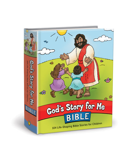God's Story for Me Bible Cover 104 Life-Shaping Bible Stories for Children