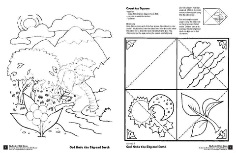 Big Book of Bible Story Coloring Activities for Early