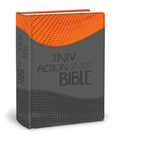 The NIV Action Study Bible - Premium Imitation Leather