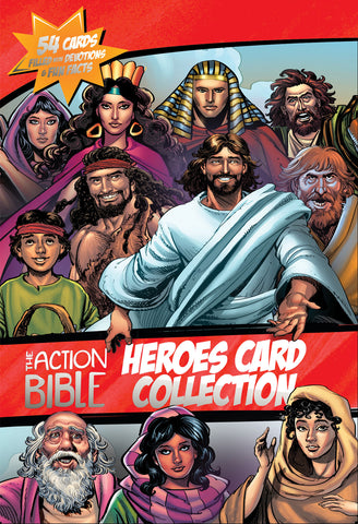 The Action Bible Heroes Card Collection: 54 Cards Filled with Devotions and Fun Facts | Sergio Cariello