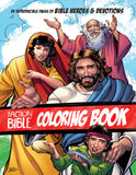 The Action Bible Coloring Book: 55 Reproducible Pages of Bible Heroes and Devotions | Sergio Cariello