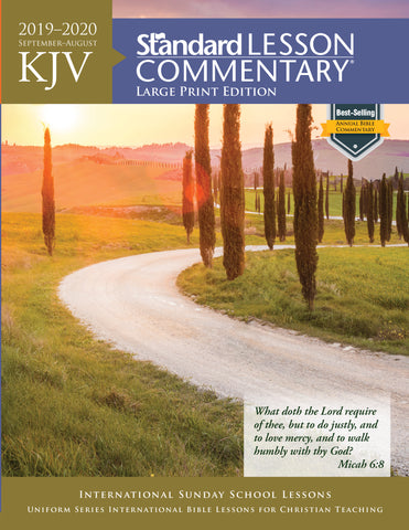 KJV Standard Lesson Commentary® Large Print Edition 2019-2020