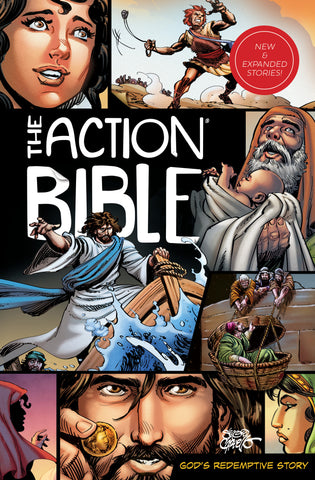 The Action Bible Expanded Edition: God's Redemptive Story - Sergio Cariello | David C Cook