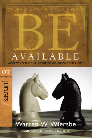 Be Available (Judges) - Warren Wiersbe | David C Cook