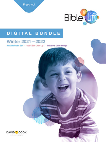 Bible-in-Life Preschool Digital Bundle | Winter 2017-2018