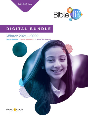 Bible-in-Life Middle School Digital Bundle | Winter 2017-2018