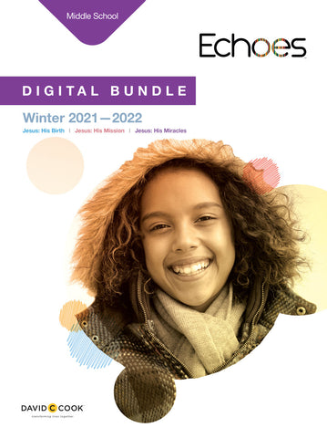 Echoes Middle School Digital Bundle Winter