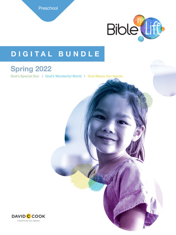Bible-in-Life | Preschool Digital Bundle | Spring 2019