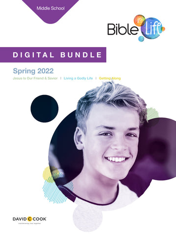 Bible-in-Life | Middle School Digital Bundle | Spring 2019