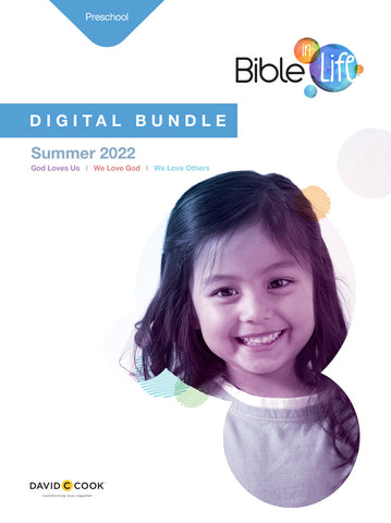 Bible in Life Preschool Digital Bundle Summer 2020