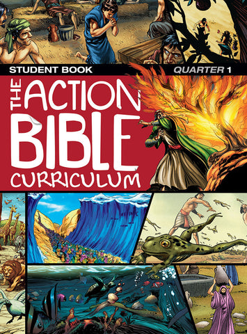 The Action Bible Curriculum for Preteens Student Book- Fall