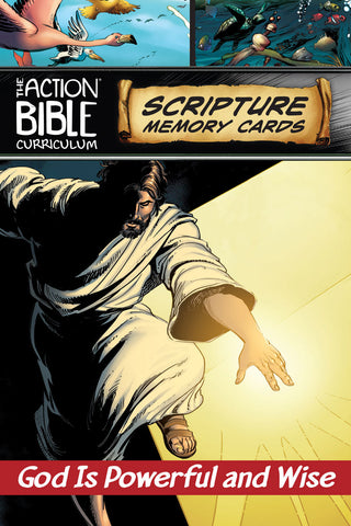 The Action Bible Scripture Memory Cards NIV® - Print Quarter 7