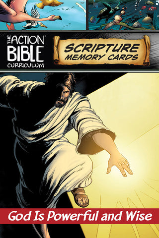The Action Bible Scripture Memory Cards - ESV, NIV® or CSB - Print Quarter 1