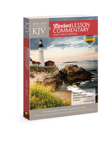 KJV Standard Lesson Commentary Large Print Edition 2018-2019