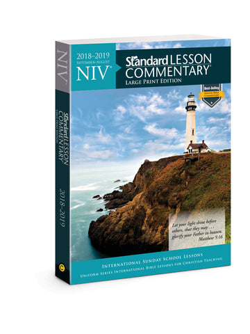 NIV Standard Lesson Commentary Large Print Edition 2018-2019