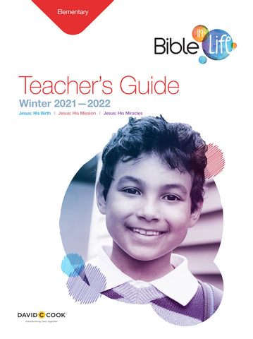 Bible-in-Life Elementary Teacher's Guide | Winter 2018-2019