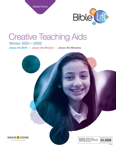 Bible-in-Life Middle School Creative Teaching Aids | Winter 2018-2019