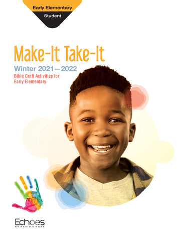 Echoes Early Elementary Make-It/Take-It (Craft & Take Home) | Winter 2018-2019
