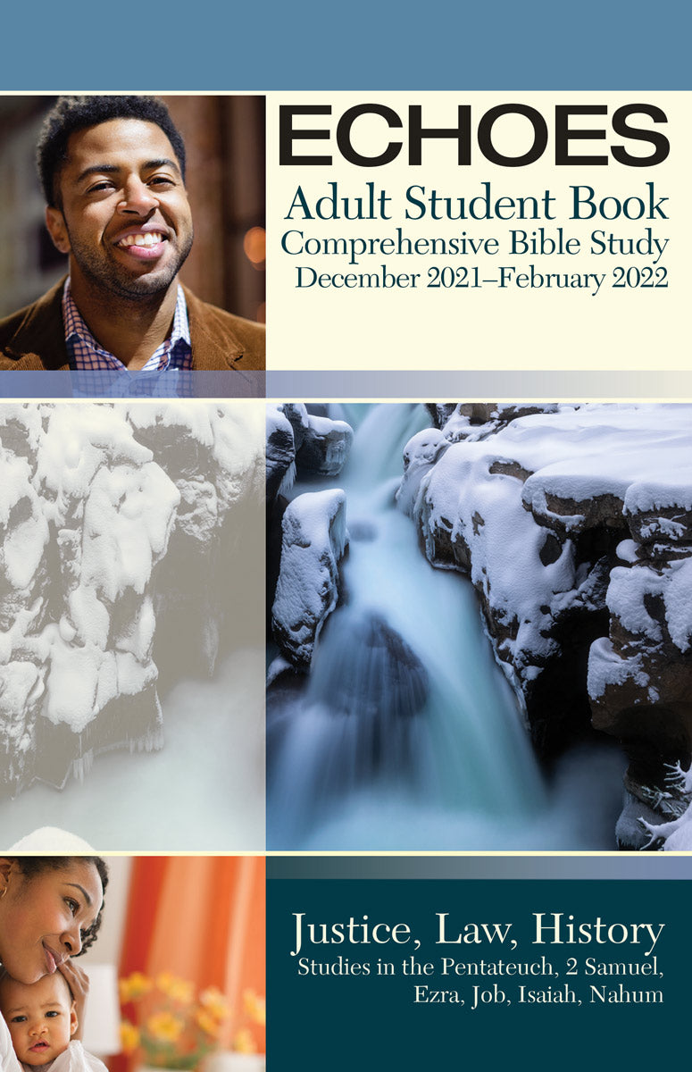 Winter Bible Study 2020.Echoes Adult Comprehensive Bible Study Student Book Winter 2019 2020