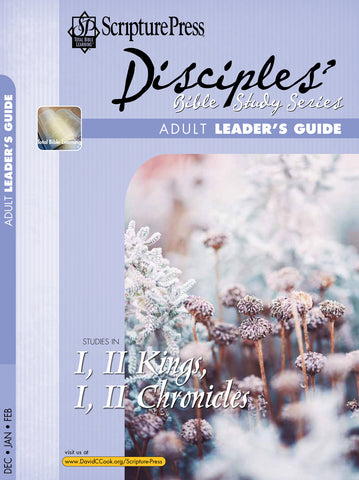 Scripture Press Adult Disciple's Bible Study Leaders Guide | Winter 2018-2019