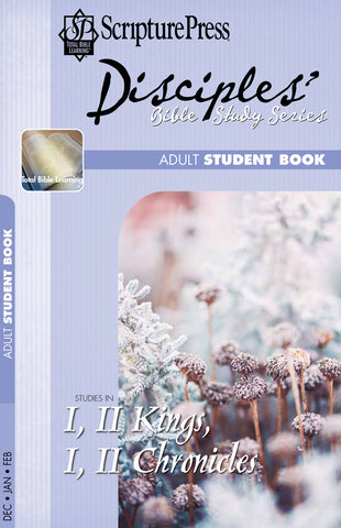 Scripture Press Adult Disciple's Bible Study Student Book | Winter 2018-2019