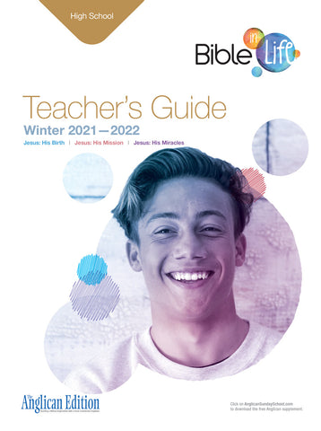 Bible-in-Life High School Teacher's Guide (Episcopal/Anglican edition) | Winter 2017-2018