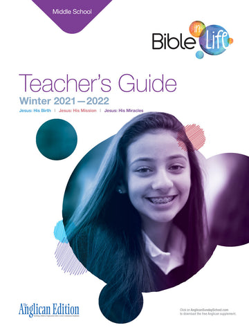 Bible-in-Life Middle School Teacher's Guide (Episcopal/Anglican edition) | Winter 2017-2018