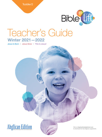 Bible-in-Life Toddler/2 Teacher's Guide (Episcopal/Anglican edition) | Winter 2017-2018