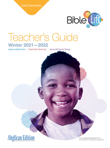 Bible-in-Life Early Elementary Teacher's Guide (Episcopal/Anglican edition) | Winter 2018-2019