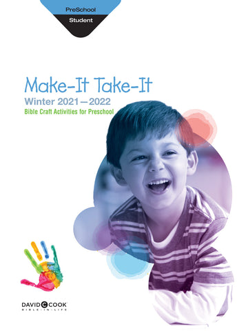 Bible in Life Preschool Make It Take Activity Book Winter