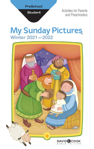 Bible-in-Life Preschool My Sunday Pictures Take-Home Cards | Winter 2017-2018