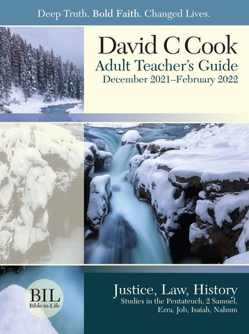 Bible-in-Life Adult Comprehensive Bible Study Teacher's Guide | Winter 2018-2019