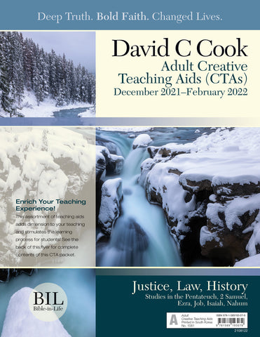 Bible-in-Life Adult Creative Teaching Aids | Winter 2017-2018