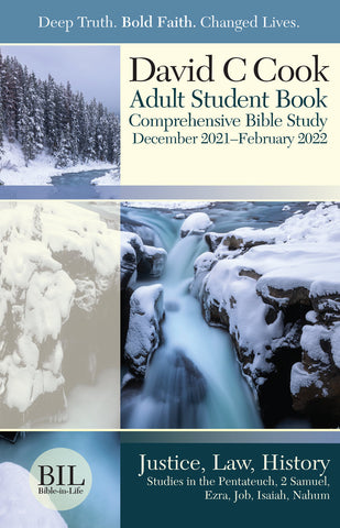 Bible-in-Life Adult Comprehensive Bible Study Regular Print Student Book | Winter 2018-2019