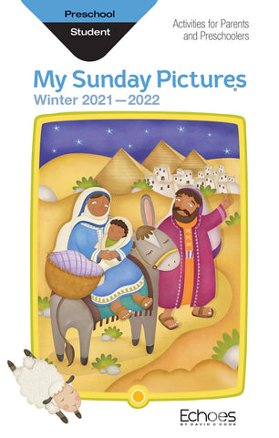 Echoes Preschool My Sunday Picture Take home book Winter