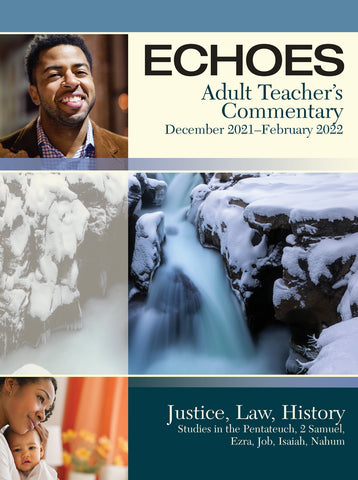 Echoes Adult Teacher's Commentary Winter