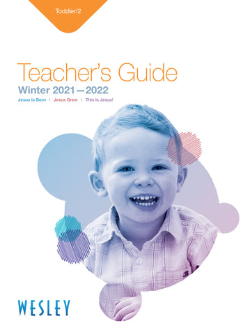 Wesley Toddler and 2 teachers guide Winter
