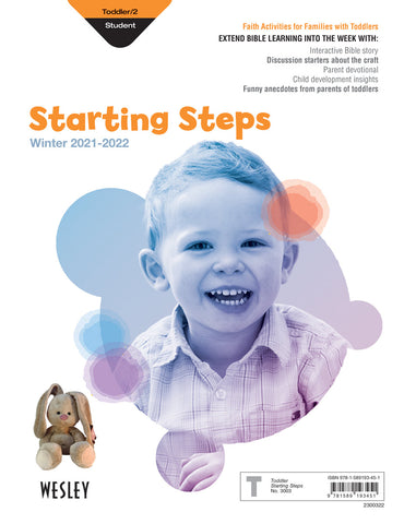 Wesley toddler 2 starting steps winter