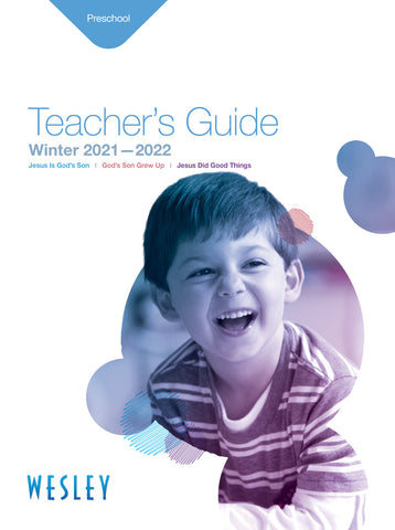 Wesley Preschool Teachers Guide Winter