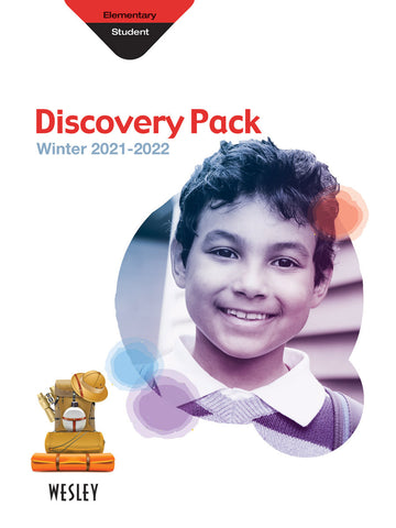 Wesley Elementary Discovery Pack (Craft Book) | Winter 2020-2021