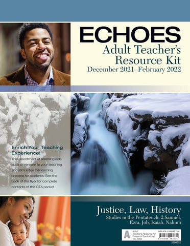 Echoes Adult Teacher's Resource Kit | Winter 2018-2019