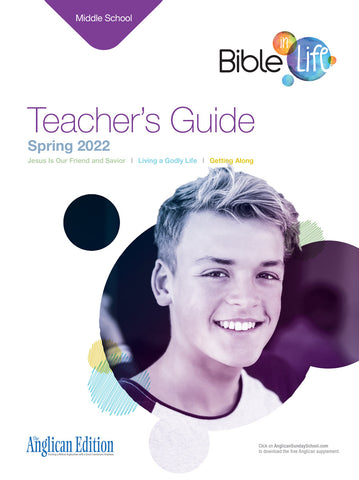Bible-in-Life Middle School Teacher's Guide (Episcopal/Anglican edition)