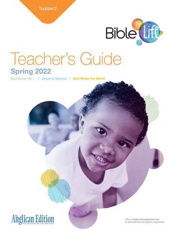 Bible-in-Life | Toddler/2 Teacher's Guide (Episcopal/Anglican edition) | Spring 2020