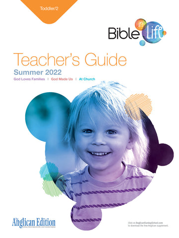 Bible-in-Life | Toddler/2 Teacher's Guide (Episcopal/Anglican Edition) | Summer 2020