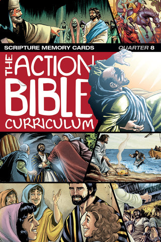The Action Bible Scripture Memory Cards NIV® - Print Quarter 8