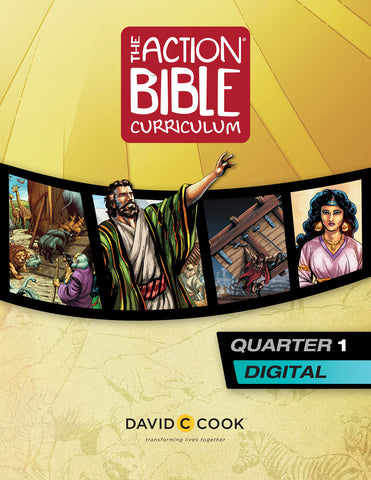The Action Bible Curriculum Quarter 1 | Digital Edition